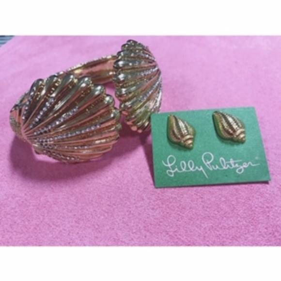 Lilly Pulitzer Jewelry - Lilly Pulitzer Shell Cuff